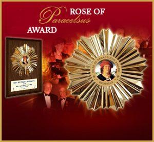 2016 Rose of Paracelsus Award of the European Medical Association.
